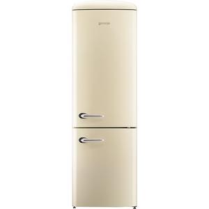 Combina frigorifica Gorenje Retro ORK192C, Frost Less, A++, 322 l, Control electronic, Bej