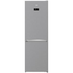 Combina frigorifica BEKO RCNA366E30ZXB, 324 l, 186 cm, A++, argintiu