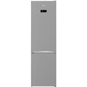 Combina frigorifica BEKO RCNA406E30ZXB, 362 l, 203 cm,  A++, argintiu
