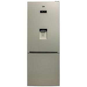 Combina frigorifica BEKO RCNE520E20DZM, NeoFrost , 475 l, H 192 cm, Clasa A+, bej