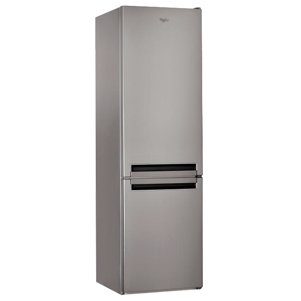 Combina frigorifica WHIRLPOOL BLF 9121 OX, Less Frost, 369 l, H 201 cm, Clasa A+, 6th Sense, inox