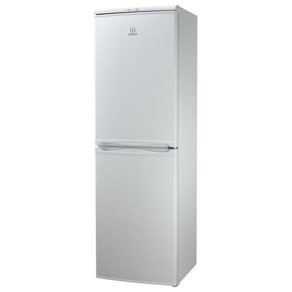 Combina frigorifica INDESIT CAA 55, Low Frost 235 l, H 174 cm, Clasa A+, alb