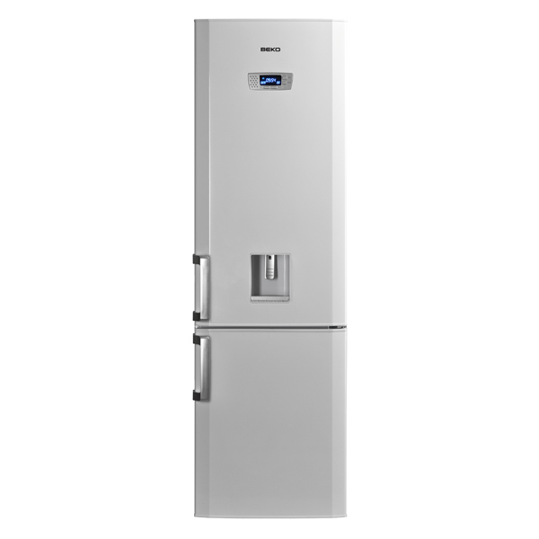 Combina frigorifica BEKO DBK386WDR+, 325 l, 201 cm,  A+, alb