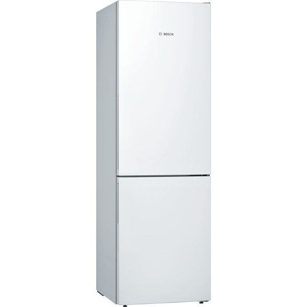 Combina frigorifica BOSCH KGE36VW4A, LowFrost, 302l, H 186 cm, Clasa A+++, alb