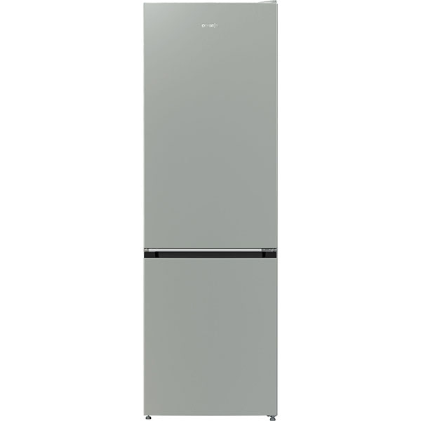 Combina frigorifica GORENJE NRK611PS4, NoFrost Plus, 307 l, H 185 cm, Clasa A+, argintiu