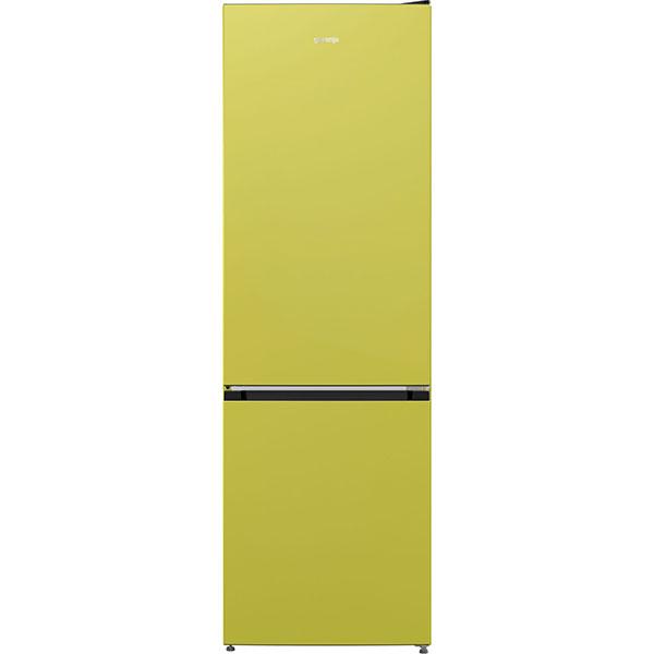 Combina frigorifica GORENJE NRK6192CBAP4, NoFrost Plus, 307 l, H 185 cm, Clasa A++, verde deschis