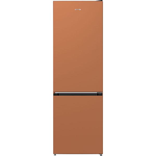 Combina frigorifica GORENJE NRK6192CCR4, NoFrost Plus, 307 l, H 185 cm, Clasa A++, cupru