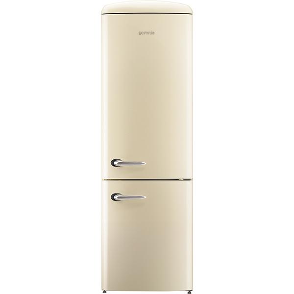Combina frigorifica GORENJE ORK192C, Frost Less, 322 l, H 194 cm, Clasa A++, bej