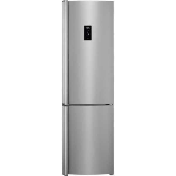 Combina frigorifica AEG RCB83724MX, Frost Free, 341 l, H 200 cm, Clasa A++, inox