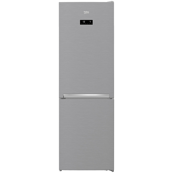 Combina frigorifica BEKO RCNA366E30ZXB, NeoFrost, 324 l, H 186 cm, Clasa A++, argintiu