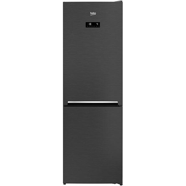 Combina frigorifica BEKO RCNA366E30ZXR, NeoFrost, 324 l, H 186 cm, Clasa A++, dark inox