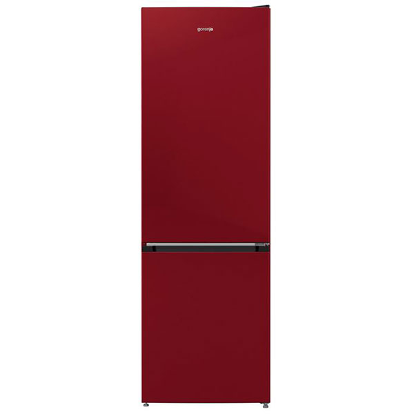 Combina frigorifica GORENJE RK6192AR4, FrostLess, 324 l, H 185 cm, Clasa A++, bordo