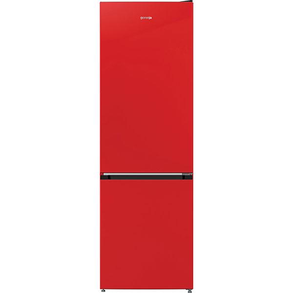 Combina frigorifica GORENJE RK6192ARD4, FrostLess, 324 l, H 185 cm, Clasa A++, rosu