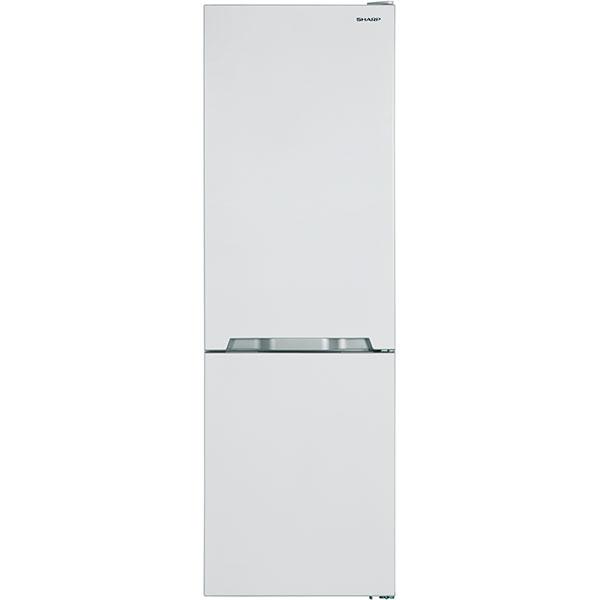Combina frigorifica SHARP SJ-BA10IMXW1-EU, Advanced NoFrost, 324 l, 186 cm, Clasa A+, alb