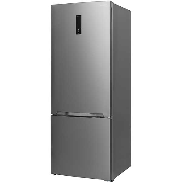 Combina frigorifica SHARP SJ-BA24IEXI1-EU, 437 l, 186.8 cm, A++, inox