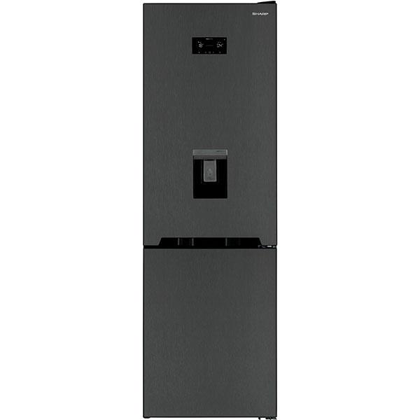 Combina frigorifica SHARP SJ-BA31IHDA2-EU, NoFrost, 324 l, H 186 cm, Clasa A++, antracit