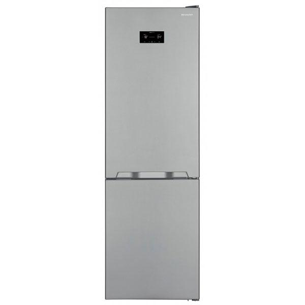 Combina frigorifica SHARP SJ-BA31IHXI2-EU, Advanced NoFrost, 324 l, H 186 cm, Clasa A++, inox