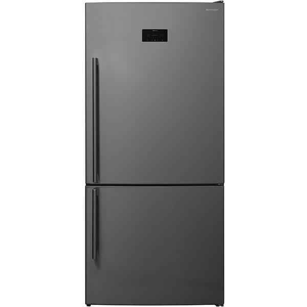 Combina frigorifica SHARP SJ-BA35GHXI2-EU, Advanced NoFrost, 564 l, H 186 cm, Clasa A++, inox