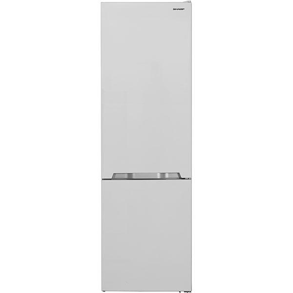 Combina frigorifica SHARP SJ-BB20IMXW1-EU, NanoFrost, 372 l, H 201 cm, Clasa A+, alb