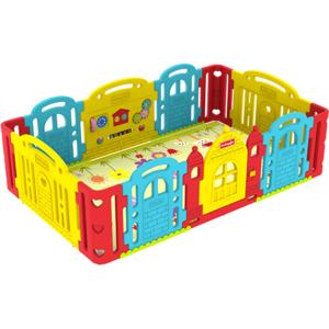 Tarc de joaca DWINGULER Castle Rainbow PDC P2 001, 0 luni+, multicolor