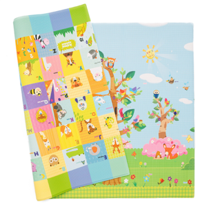 Covor cu 2 fete DWINGULER Playmat Birds in the Tress, 230 x 140