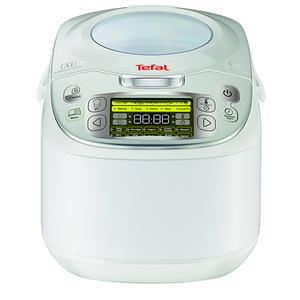 Multicooker TEFAL Fuzzy Logic RK812110, 5l, 750W, 45 programe, alb