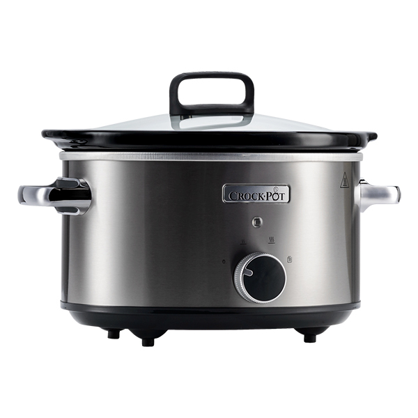 Aparatul de gatit electric CROCK-POT Slow Cooker CSC028X-DIM, 210W, 3.5l, inox