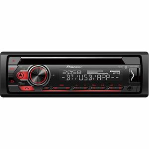 Cd player auto PIONEER DEH-S410BT, 4X50W, Bluetooth, USB