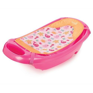 Cadita si suport de baita SUMMER INFANT Splish n Splash, 0 luni - 2 ani, roz