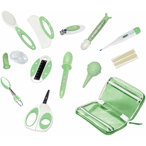 Kit ingrijire SUMMER INFANT Nursery and Bath, 0 luni +, alb - verde