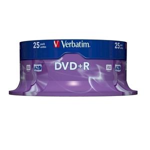 DVD+R VERBATIM CE435C, 16x,  4.7GB, 25 buc