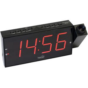 Ceas cu alarma HOME LTCP 01, Afisaj rosu, negru