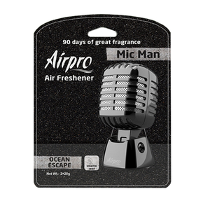 Odorizant, model microfon, solid, cu rezerva, aroma Ocean escape