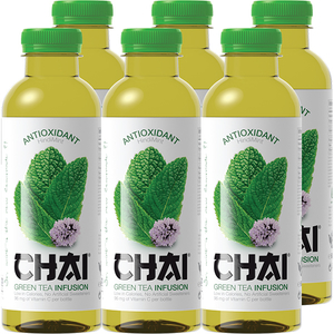 Ice Tea CHAI INFUSION Green bax 0.6L x 6 sticle