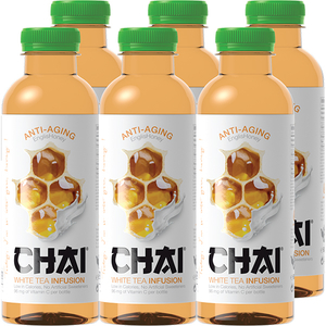 Ice Tea CHAI INFUSION White bax 0.6L x 6 sticle