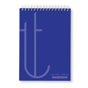 Blocnotes TRENDY, matematica, A4, 70 file, albastru