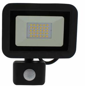 Proiector LED cu senzor de miscare WELL LEDFN-SPARKLE20BKPIR-WL, 20W, 1600 lumeni, IP65, negru