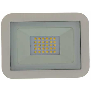 Proiector LED WELL LEDFN-SPARKLE20WE-WL, 20W, 1600 lumeni, IP65, alb