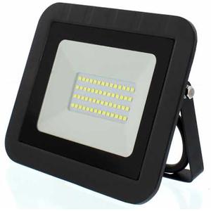 Proiector LED WELL LEDFN-SPARKLE30BK-WL, 30W, 2400 lumeni, IP65, negru