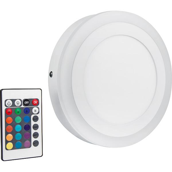 Aplica LED cu telecomanda OSRAM Round, 19W, alb