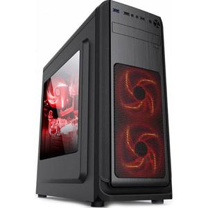 Sistem Desktop Gaming MYRIA Style V50, AMD RYZEN 5 2400Gpana la 3.9GHz, 8GB DDR4, 1TB, NVIDIA GeForce GTX 1050TI 4GB, Ubuntu