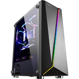 Sistem PC Gaming MYRIA Vision V29, Intel I5-8400 pana la 4GHz, 16GB, 1TB + SSD 120GB, AMD Radeon RX 580 8GB, Ubuntu