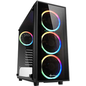 Sistem Desktop Gaming MYRIA Vision V32, Intel Core i7-9700K pana la 4.9GHz, 32GB, SSD 500GB, NVIDIA GeForce RTX 2060 SUPER 8GB