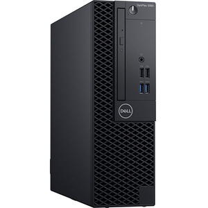 Sistem Desktop PC DELL OptiPlex 3060 SFF, Intel Core i5-8500 pana la 4.1GHz, 8GB, SSD 256GB, Intel UHD Graphics 630, Ubuntu