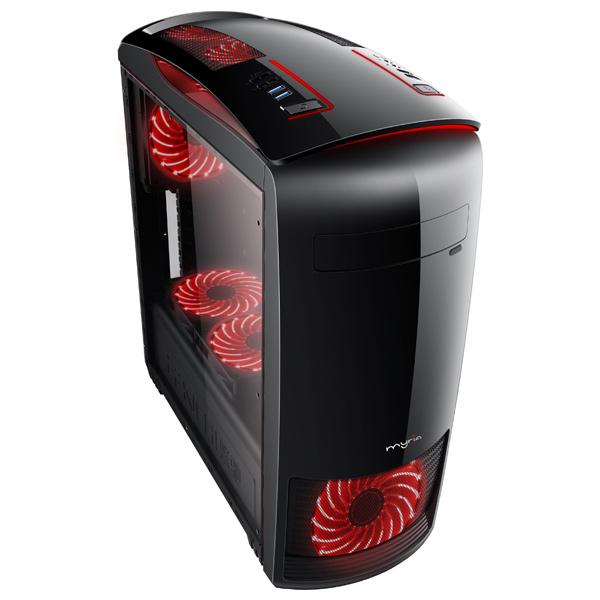 Sistem IT Myria Digital 20Win, Intel Core i5-8400 pana la 4GHz, 8GB, 1TB, NVIDIA GeForce GTX 1050Ti 4GB, Windows 10 Home