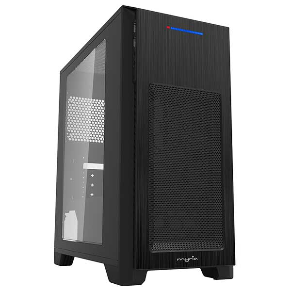Sistem Desktop PC MYRIA Style V54, AMD Ryzen 3-3200G pana la 4GHz, 8GB, SSD 240GB, AMD Radeon Vega 8 Graphics, Ubuntu