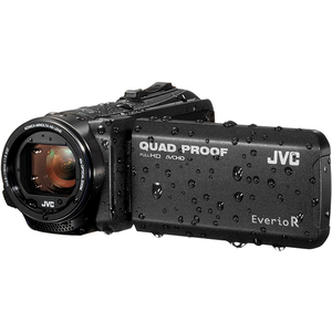 Camera video JVC Quad-Proof GZ-R405BEU, neagra