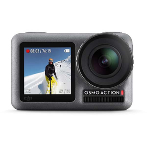 Camera video de actiune DJI Osmo Action, 4K, 12MP, negru