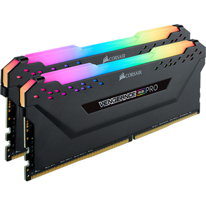 Memorie desktop CORSAIR Vengeance RGB PRO, 32GB (2 x 16GB) DDR4, 3000MHz, CL15, CMW32GX4M2C3000C15