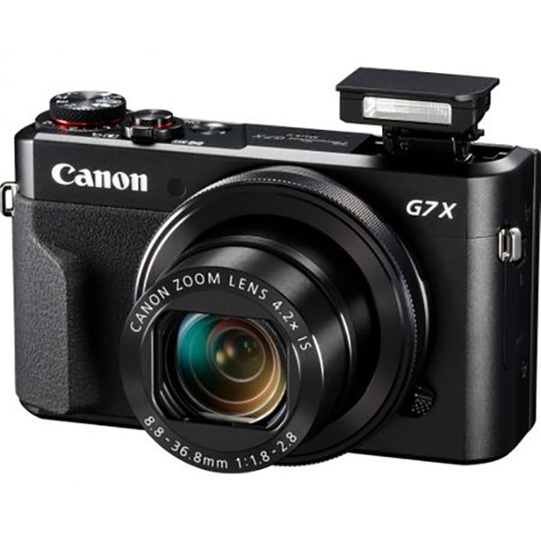 Camera foto digitala CANON PowerShot G7X MARK II, 20.9Mp, 4.2x, 3 inch, Black